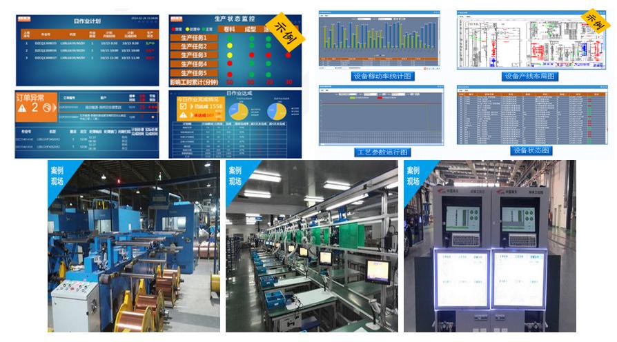 生产数据采集系统现场应用
