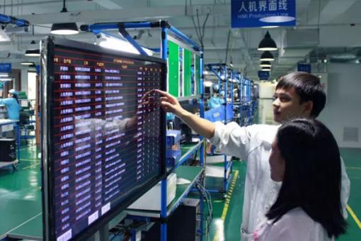 智能电子看板管理系统